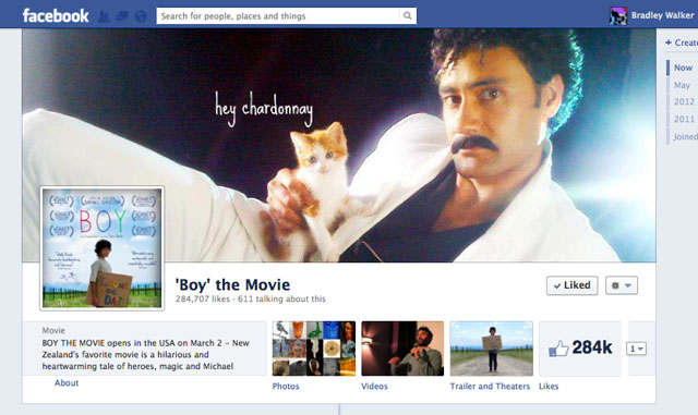 Boy the Movie Facebook