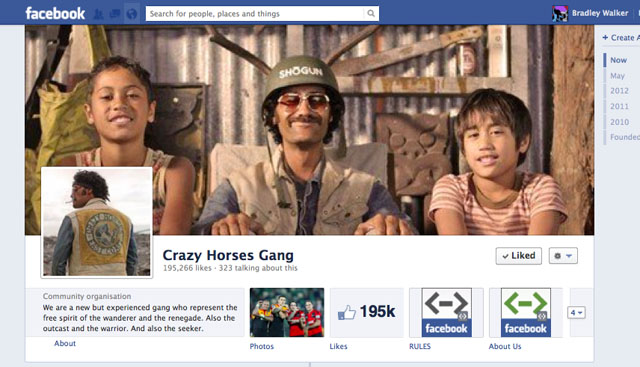 Crazy Horses Gang Facebook