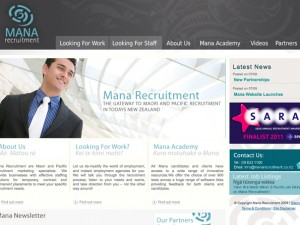 Mana Recruitment Website