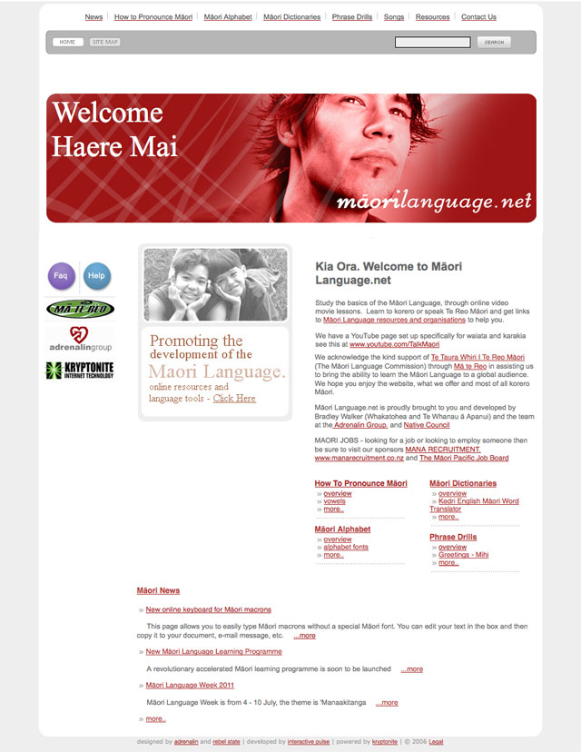 Maori Language net