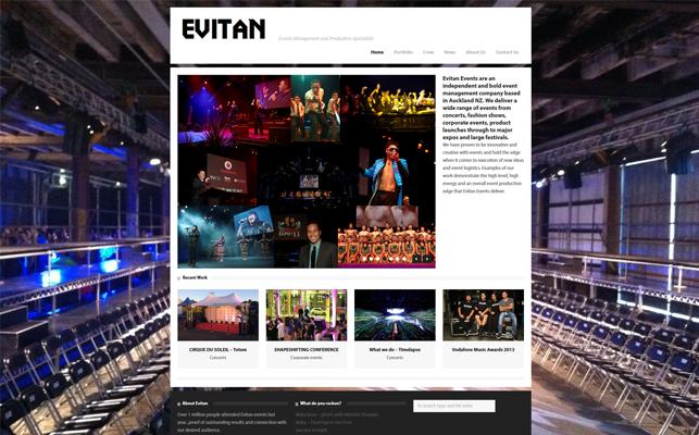 Evitan-website