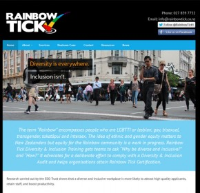 Rainbow-tick-website